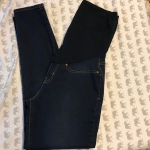 Maternity Jeggings/ Jeans with Belly Band